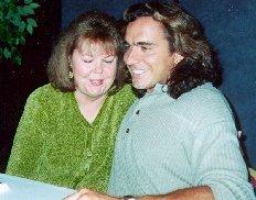 With Pamela Garrett