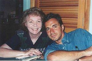 With Carolyn Holland