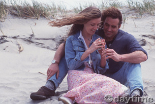 Patrick and Marty on the Island - Thorsten Kaye with Susan Haskell -- ABC Publicity Photos