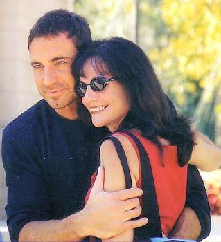 Thorsten with Alina (© 2002 Kim)