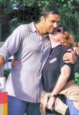 Thorsten with Heidi (© 2002 Kim)