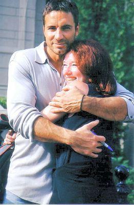 Thorsten with Kim (© 2002 Kim)