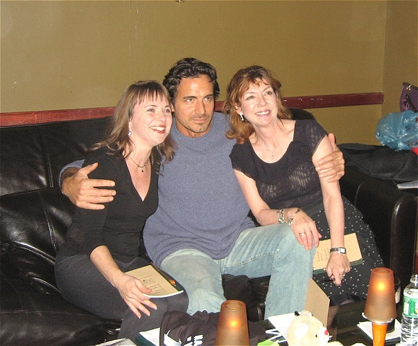 Aileen Quinn, Thorsten Kaye, Sheena McCroy at Trinity, Hoboken, NJ, 20/7/06