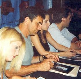 With Erin, Kelly, Nolan
