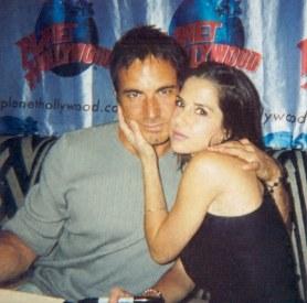 With Kelly Monaco