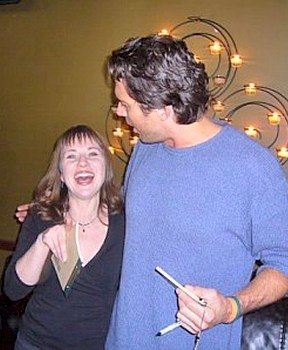With Aileen © 2006 Sheena