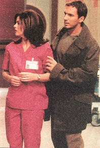 Thorsten Kaye and Julie Pinson, Soap Opera Digest, 2/27/01
