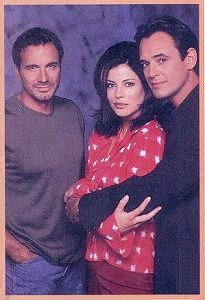 Thorsten Kaye, Julie Pinson and Jon Lindstrom, Soap Opera Update, 02/27/01