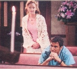 Susan Haskell and Thorsten Kaye, Soap Opera Weekly, 5/1/01