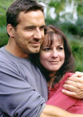 Thorsten with Alina (© 2003 Kim)