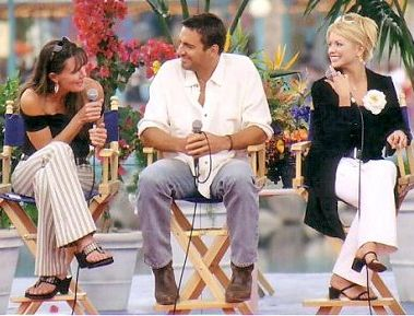 Thorsten with Lynn Herring and Erin Hershey © 2003 Kim