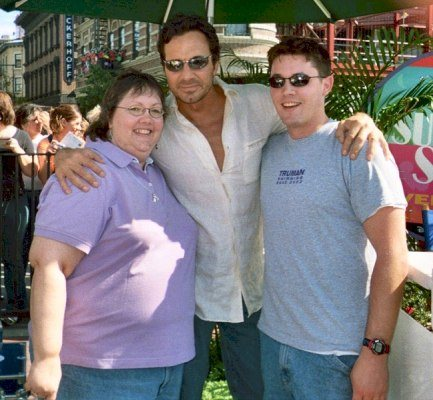 With Cheri and Son © 2005 Cheri