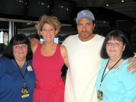 With Christy, Tami, and Kathy