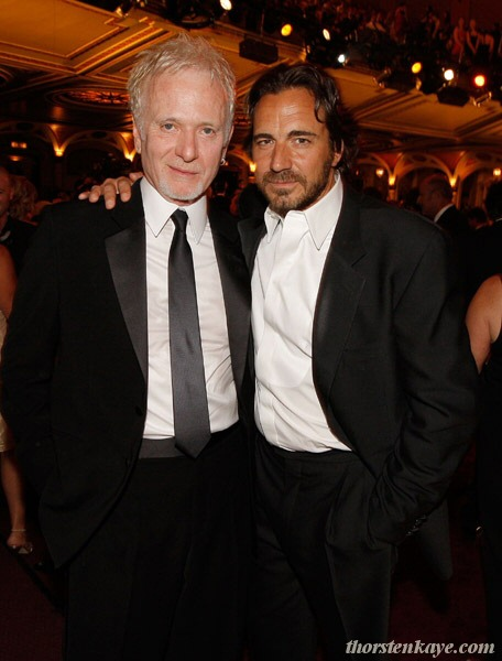 With Tony Geary